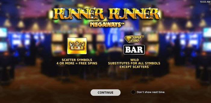 Play Runner Runner Megaways™ for free in demo mode
