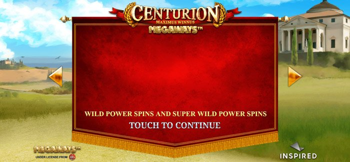 Play Centurion Megaways for free in demo mode
