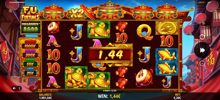How to play at Fu Fortunes Megaways slot?
