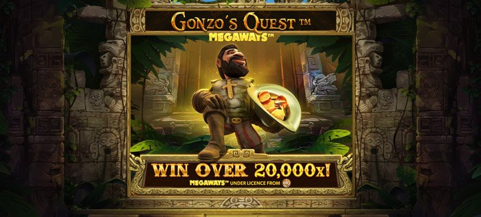 Play Gonzo's Quest Megaways for free in demo mode