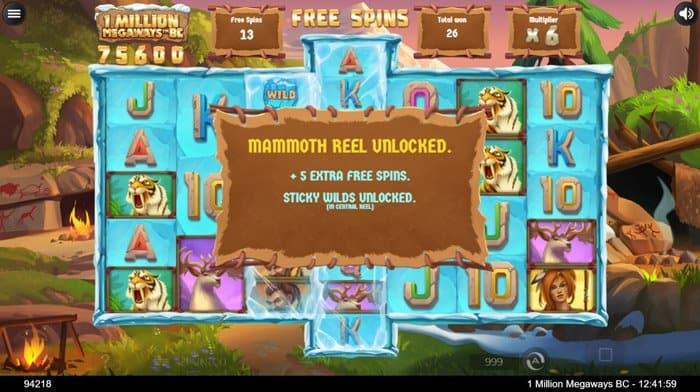 mammoth reel unlocked