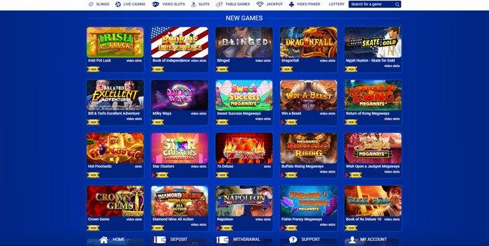 slot games lobby