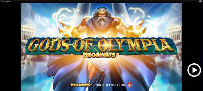 Play Gods of Olympus Megaways for free in demo mode