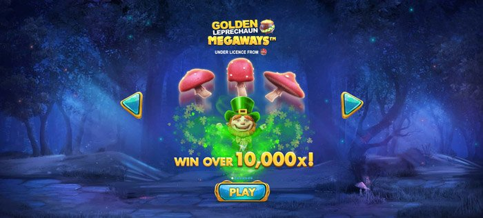 Play Golden Leprechaun Megaways for free in demo mode