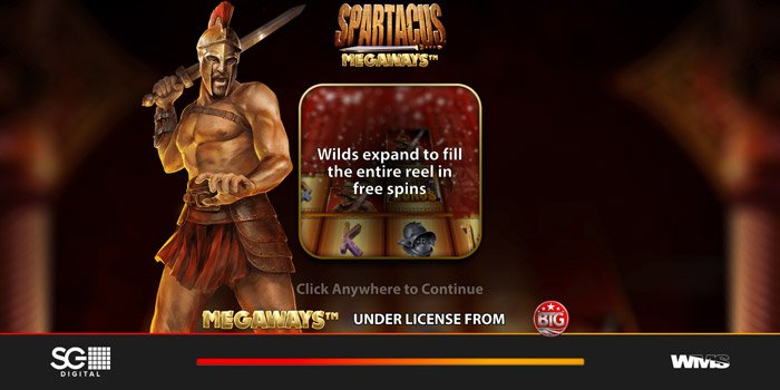Play Spartacus Megaways for free in demo mode
