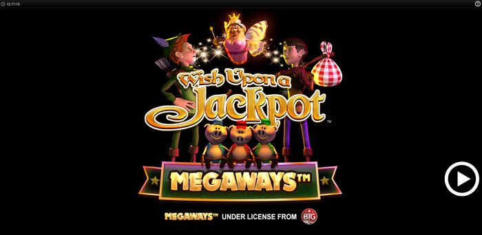 Play Wish upon a Jackpot Megaways for free in demo mode