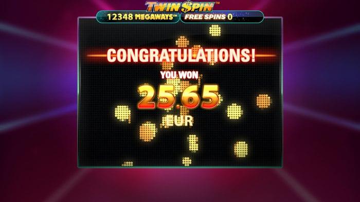 Twin Spin Megaways Big Win