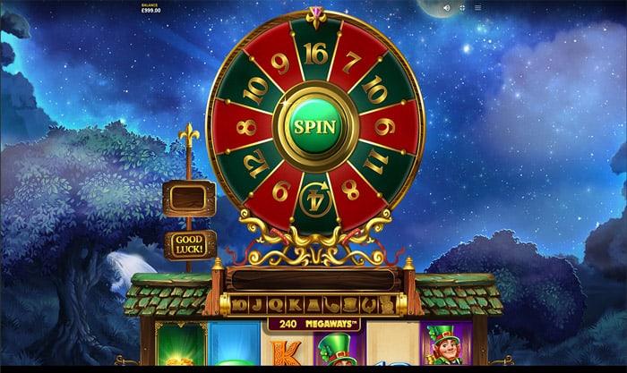 Leprechauns Magic Megaways Bonus Wheel