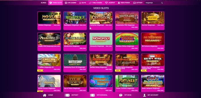 nobonus casino megaways slots