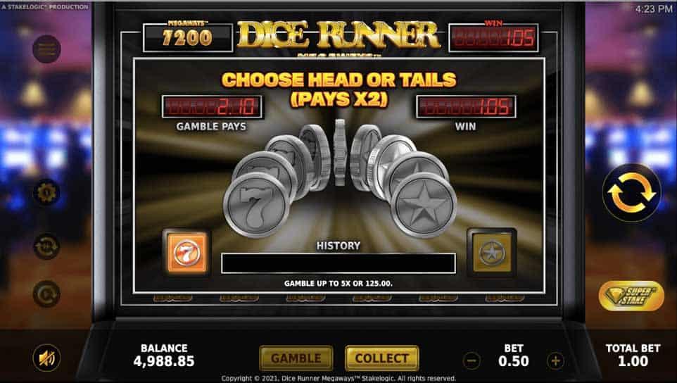 Dice Runner Megaways Gamble2