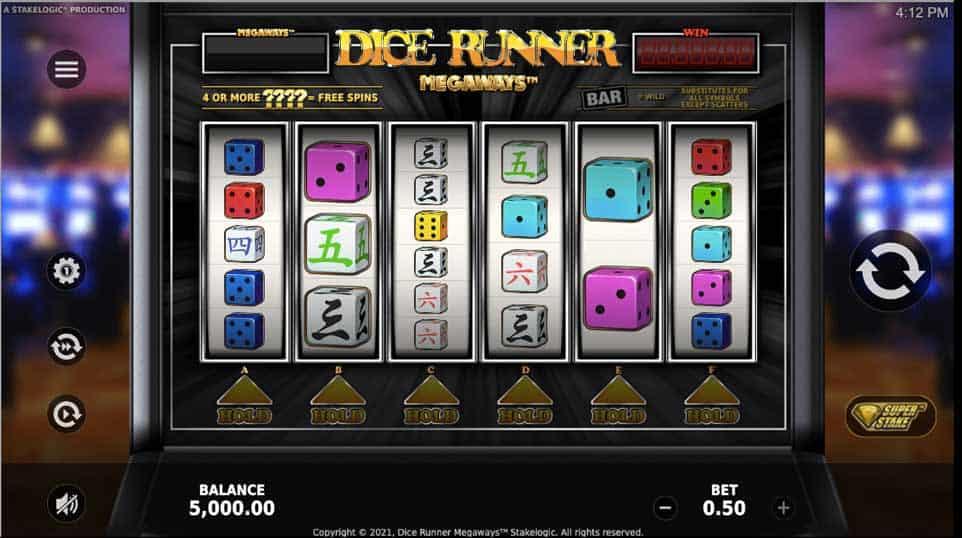 Dice Runner Megaways Start