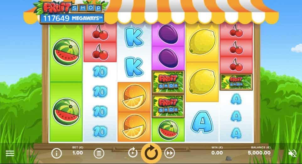 Fruit Shop Megaways Design