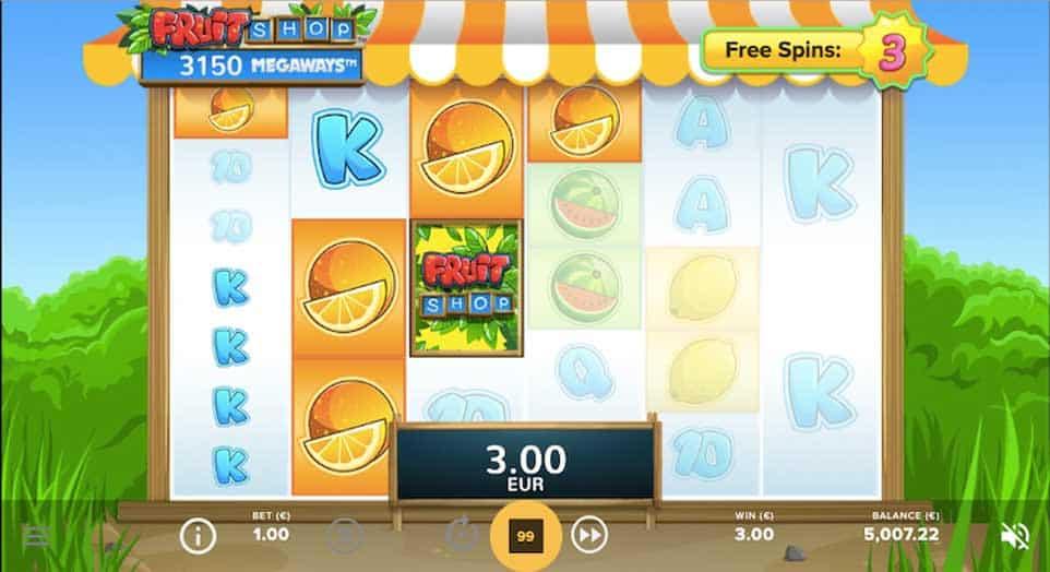 Fruit Shop Megaways Free Spins 1