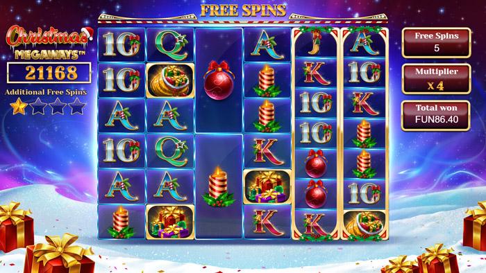 Christmas Megaways Bonus Round