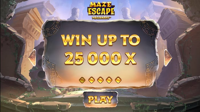 Play Maze Escape Megaways for free in demo mode
