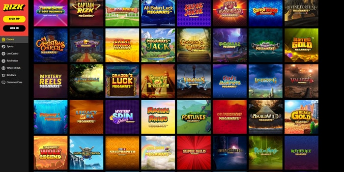 Rizk Casino Megaways Slots